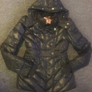 $300 like new Juicy couture long puffer jacket